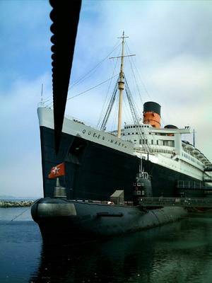 Le Queen Mary et Le Scorpiio